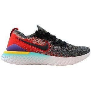 Grade-School Epic React Flyknit 2 Black AQ3243-007